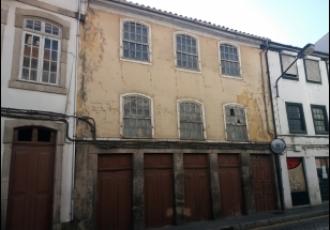 Edificio no centro da cidade de Lamego